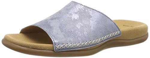 Gabor Shoes Damen Jollys Pantoletten, Blau (Aquamarin 66), 38 EU