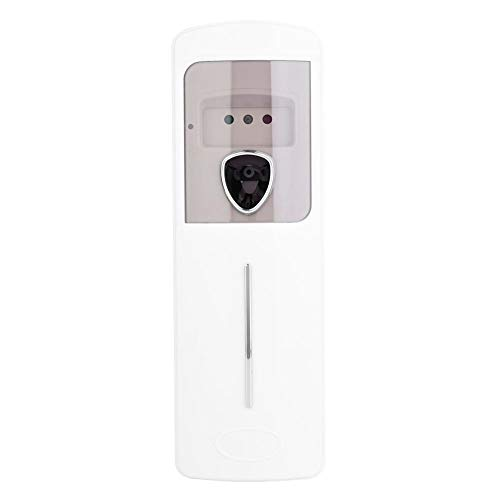 Dispensador automático de ambientador, ambientador automático de pared Sensor de luz de fragancia Dispensador de aerosol para dormitorio interior, hotel, oficina, local comercial, blanco(Induction)