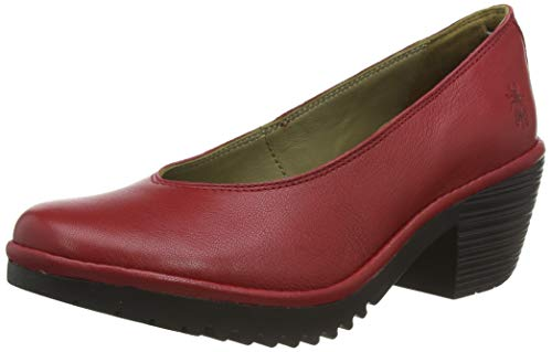 Fly London Walo988fly Pumps, Rot (Lipstick Red (Black Sole) 011), 34 EU