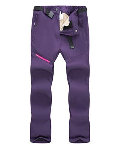 Hijo Adulto Pantalones De Senderismo De Esqui Snowboard Trekking Hombre Decathlon Montaña Púrpura F L