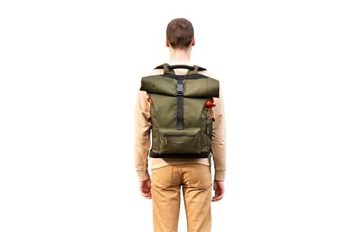 Nomad Bag XL - Mochila multifunción, muy resistente y ligera, caqui, XL