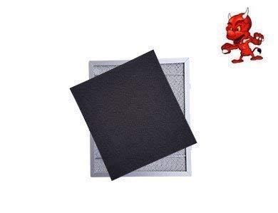 1 Set Aktivkohlematten Kohlematten Filtermatten Aktivkohlefilter Filter Kohlefilter in Premium Qualität passend für Dunstabzugshaube Abzugshaube Exquisit UBH 09