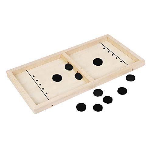 Spielzeug Double Hole Bouncing Chess wie Neuheit Katapulte Puzzles Verbesserte Brettspiel Doppelloch-Katapult-Schachstoßstange Interaktiver Spieltisch Desktop