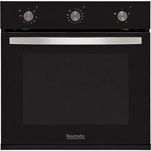 Baumatic BOFMU604B A+ Rated Built-In Electric Single Oven - Black