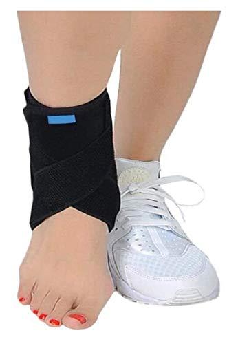 NQCT Fallfuß Orthese, Einstellbare Fersensporn Nachtschiene Wiederverwendbare Fallfuß Brace Pull-Knöchel-Verstauchung Schutz for Heel Pain Relief 10.5