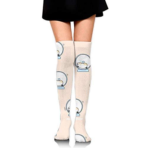 YudoHong Lindos calcetines de compresión para hámster, calcetines largos hasta la rodilla, para hombres y mujeres, apoya el deporte, correr, ciclismo, fútbol, pierna delgada, viajes, enfermería médica