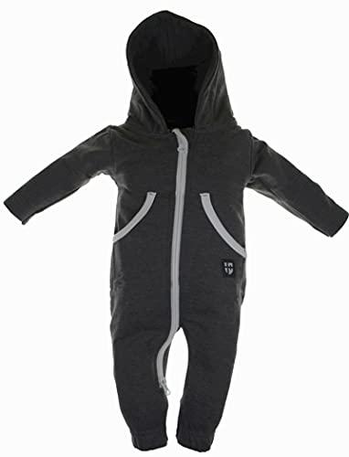 Gennadi Hoppe Baby Jumpsuit - Overall,dunkelgrau,86