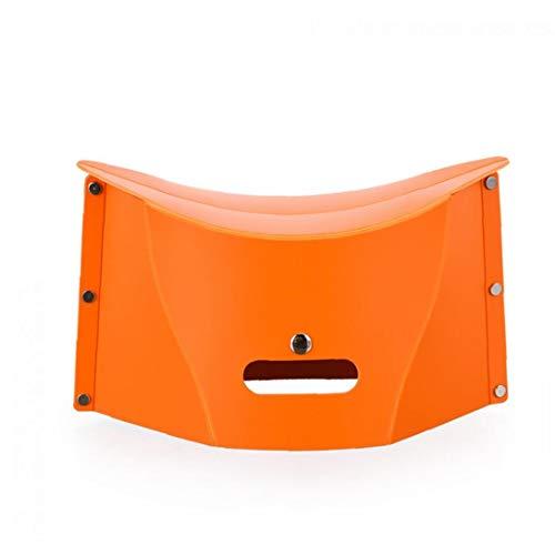 JRXyDfxn Folding Chair Slacker tragbarer zusammenklappbarer Hocker für Outdoor Sport orange