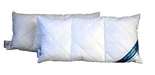 Hofmann´s Spezialkissen 3-Kammer Kopfkissen Nackenkissen 40x80 cm Baumwolle