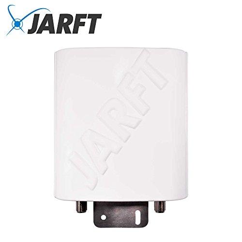 JARFT J4GMB-12 LTE Antenne inkl. 5m Kabel - 12dBi, 800/1800/2600MHz Multiband - Wetterfeste 4G Rundstrahlantenne passend für LTE Router