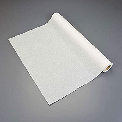 """Graham Medical 007 Quality Table Paper, Crepe, 24"""" Width, 125' Length, White (Pack of 12)"""