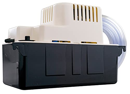 Little Giant 554415 VCMA-15ULST 65 GPH 1/50 HP Automatic Condensate Pump with Safety Switch and 20 Ft. Tubing for HVAC, Dehumidifier, Furnace, Air Conditioner