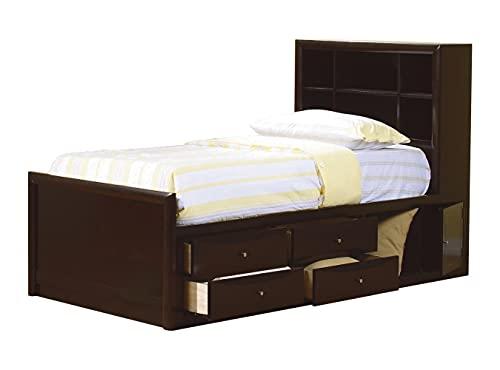 Coaster Fine Furniture 400180T Cama Individual de Madera Sólida con...