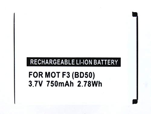MobiloTec Akku kompatibel mit Motorola Motofone F3, Handy/Smartphone Li-Ion Batterie