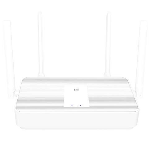 Xiaomi Mi Enrutador WLAN AX1800 Wi-Fi6 2.4GHz / 5 GHz Dos Canales 256 MB RAM 4 Puerto WLAN 1800 Mbps Chip de 5 núcleos 4 Antenas externas hasta 128 Dispositivos 5G Adecuado para IPTV VPN