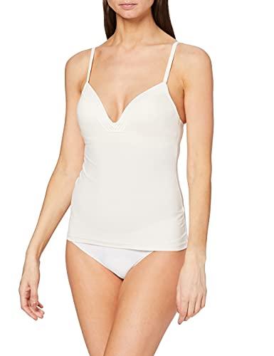Sloggi Damen Wow Embrace Bra Shirt01 Unterhemd, Weiß (White Light Combination M015), M