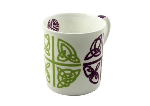 Irish Coffee Mug Celtic Love Cross Bone China Wild Goose Studio