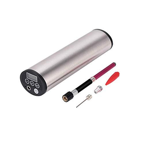 Huangjiahao Bomba de bicicleta 2 en 1 150PSI de mano USB recargable automático inflador de aire para bicicleta, coche, motocicleta, para bicicletas de montaña de carretera