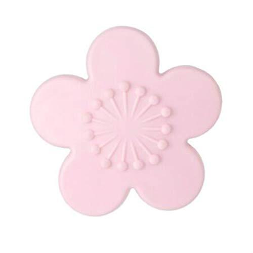 Xyamzhnn Bouton de Porte Mur Protecteur 2 PCS Pratique Forme Silicon Cherry La Grande Protection Mur Poignée de Porte Shock Pad Meubles Accessoires (Color : Pink)