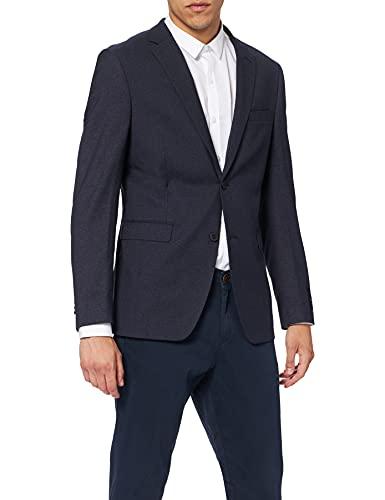 ESPRIT Collection Premium 037EO2G020, Chaqueta de Traje para Hombre, Azul (Navy), 94