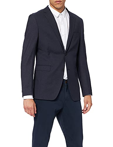 ESPRIT Collection Premium 037EO2G020 Blazer, Blu (Navy), 48 Uomo