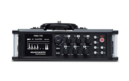 Marantz PMD-706 24bit 96kHz Negro grabadora de audio digital -...