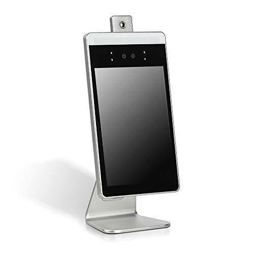 最新型 記録可能 50000人 サーモグラフィーカメラ 卓上型 非接触式 ステンレス製スタンド付き xthermo-cv