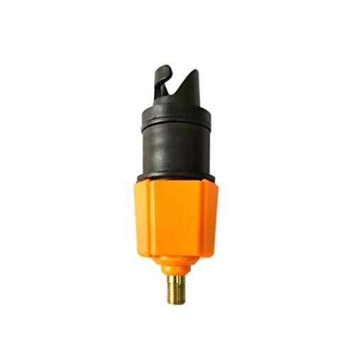 Festnight Adaptador de válvulas de Aire Tablero de paletas Sup Boca Boca Kayak Válvula Tabla de Surf Adaptador Inflable Bomba de Coche Adaptadores de válvula de Aire estándar