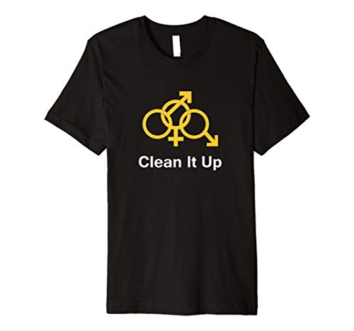 Clean It Up - Cuckold Hotwife Lifestyle T-Shirt - Colors
