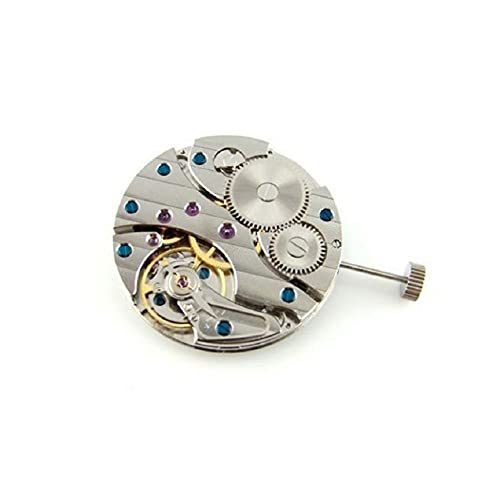 Reloj de cuerda de mano Movimiento Asia Decora para 17 joyas Gaviota cuello cisne 6497