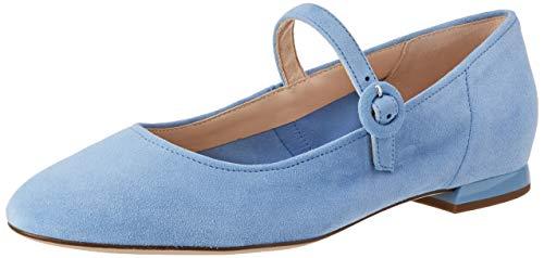 Högl Damen Ducky Geschlossene Ballerinas, Blau (Sky 3800), 45 EU
