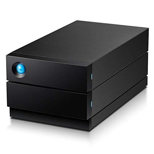 LaCie 2big RAID USB-C, Enterprise HDD w/ Rescue, 16 TB, externe Festplatte, RAID 1, 2, 3.5 Zoll, USB-C, Mac & PC, Modellnr.: STHJ16000800