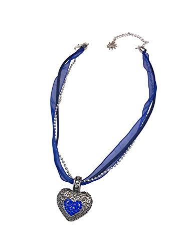 Allgau Rebell halsketting voor klederdracht Lissi met harthanger