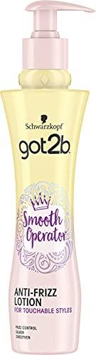 Got2B Smooth n Chic Lozione Anti Crespo per Capelli, Effetto Lisciante e Modellante, Protegge dal Calore dello Styling, Formato 200 ml