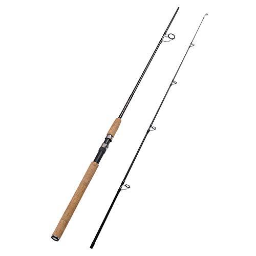 "Fiblink 2-Piece Sea Bass Fishing Rod Portable Offshore Carbon Fiber Spinning Fishing Rod Lightweight Sea Bass Spinning Pole (7'6"" Medium Heavy & 9' Medium) (9' Medium Heavy) (7'6"" Medium Heavy)"