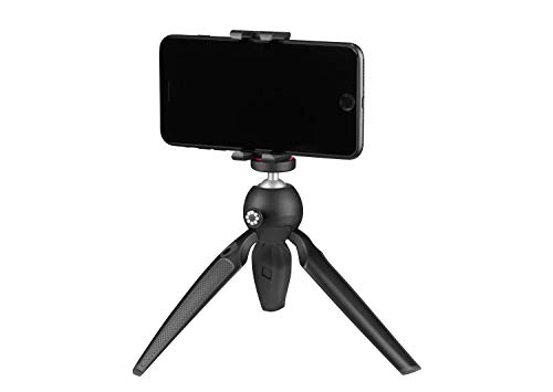 JOBY Handypod Mobile Mini Tripod with GripTight One Mount for Smartphone, Vlogging, Compact Cameras, LED, Microphones, Action Cameras, Black