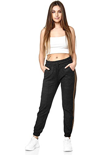 Dames joggingbroek vrouwen trainingsbroek sport fitness gym training slim fit sweatpants strepen joggingbroek streep pants model 1226