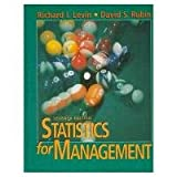 Statistics for Management (7th Edition)