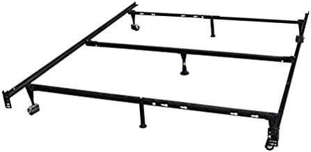 Amazon Com Queen Bed Frame With Wheels