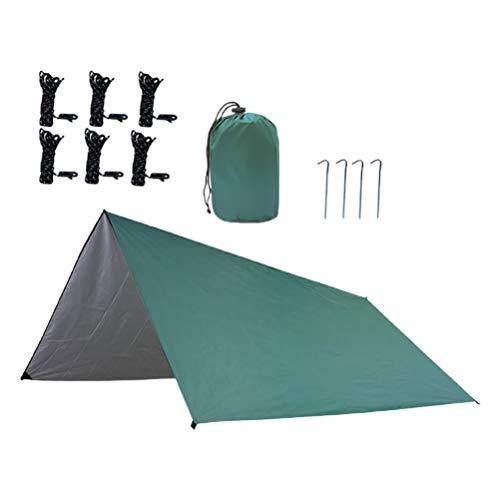 BESPORTBLE Portable Family Beach Tent Oxford Fabric Impermeable Tienda de Campaña con Bolsa de Transporte Rope for Outdoor Hicking Travel Camping Beach
