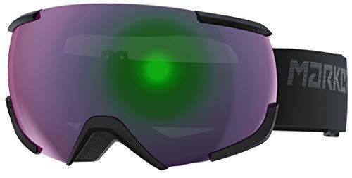 Marker 16:10+ Skibrille, Black-Green
