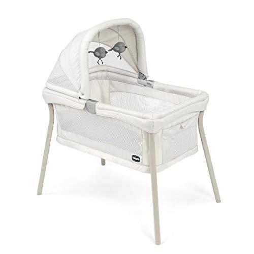 Chicco LullaGo Nest Portable Bassinet - Dove