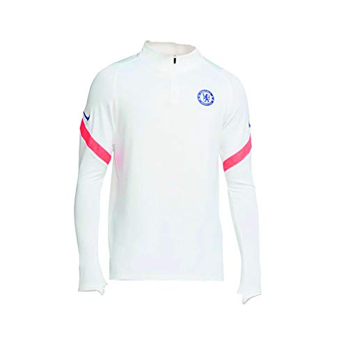 Nike 2020-2021 Chelsea CL Drill Training Top (White)