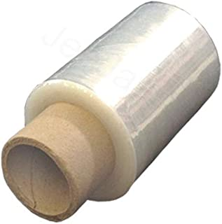 120 Clear Standard Core Mini Hand Pallet Strech Wrap Cling Film With Free Dispenser 100mm x 150m x 17mu