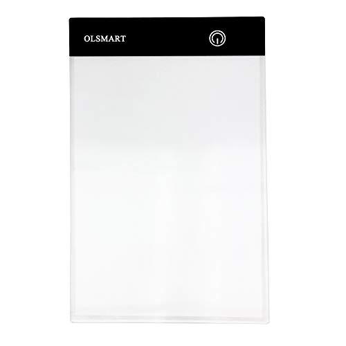 OLSMART A5 Tavolo Luminoso da DisegnoPittura Diamante  Ultrasottile Drawing Pad con Luminosità Regolabile LED Tracing Board per Artisti Disegnare Animazione
