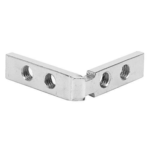 Hochleistungs-Eckstreben Innen-Eckverbinder, Zinklegierung L-förmige Gelenkhalterung(National standard 2040 angle slot)