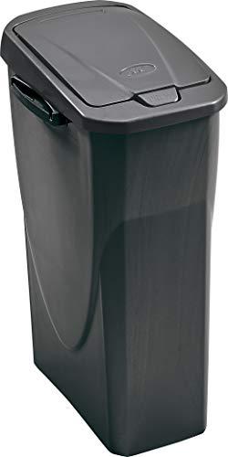M-Home | EcoBin Mülltrenner | Connect Ready, Kunststoff, anthrazit, 25 l
