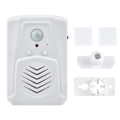 Tosuny USB/Batteriebetriebener PIR-Infrarot-Bewegungssensor Aktivierter Alarm MP3-Audio-Player Infrarot-Induktions-Türklingel