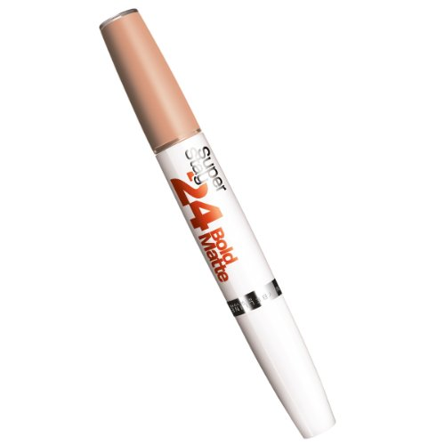 Maybelline New York Make-Up Lippenstift Superstay 24h Bold Matte Lipstick Hot Brown / Mattes...
