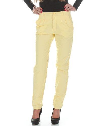 Vero Moda Damen Chino Hose by Bestseller Jeans H/M 2012 Star MOD 4227 gelb D.G